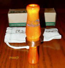 RNT RICH-N-TONE ORIGINAL SINGLE-REED ACRYLIC DUCK CALL BURNDOWN ORANGE NEW!