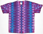 Adult TIE DYE Purple DNA T Shirt hippie 2X 3X 4X gypsy