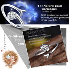 Unique 12 Constellations  Silver Ring Cubic Zirconia Resizable Lovres Ring Gift
