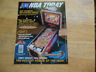 NBA FASTBREAK  PINBALL MACHINE  FLYER