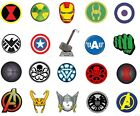 20 Avengers Marvel Symbols (Disney)Multi #1 Nail Art,Water slide,decal, stickers