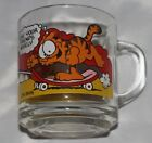 1978 Garfield and Friends glass mugs McDonalds Vintage