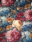 Water Resistant Outdoor Fabrics FLORAL Large Print Textile by Yard