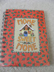 Mary Engelbreit NEW HARD COVER Spiral Bound Journal 80 Sheet -HOME SWEET HOME