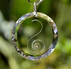 Healing Crystals :   HappinessMedallion -Circle Positive Energy Crystals