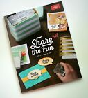 Stampin Up 2015 16 Annual Catalog New Rubber Stamps Crafts Cards Idea Book