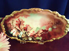 Antique Limoges JPL Pouyat Dish Hand Painted Artist Signed Hunt c 1890 France