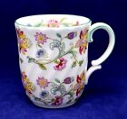 Minton HADDON HALL English Bone China Swirled Mug 1st quality (5 available)