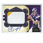 Christian Ponder RC AUTO 86 99 2 Color Jersey 2011 National Treasures VIKINGS