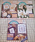 Lot of 3 Daisy Kingdom Applique Fabric Panels Bunny Bear Basket Easter Spring