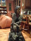 Western Bronze Sculpture/Jedediah Smith/Historical Figure--Beautiful Work Of Art