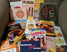 Big Lot 20+ Vintage Cookbooks Cooking Booklets Pamphlets Advertising Recipes AAA