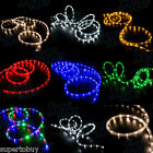 LED Rope Lights 10 25 50 100 150 feet 2 Wire Accent Lighting Christmas