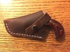 Custom Leather Holster for NAA 22 Magnum 1 1 8 and 1 5 8 inch barrels