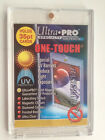 25 ULTRA PRO One Touch Magnetic Holders 35pt UV Gold Magnet New 35 pt point