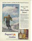Seagrams VO Canadian Whisky Vintage 1947 Print Ad
