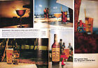 Vintage 1963 Large Seagram's Whiskey Color Print Ad