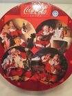 Coca Cola Santa Claus Christmas stoneware plate set of 4 by Sakura