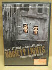 Variety Lights DVD 2000 Criterion Collection OOP Fellini