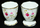 ROYAL ALBERT TENDERNESS EGG CUP NOSEGAY MINIATURE FLORAL & SCROLL RARE MINT