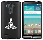 For LG G2 G3 Vigor G4 Shockproof Impact Rubber Hard Case Buddha Yoga Om Lotus