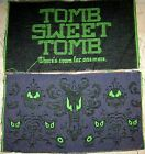 Halloween - Tomb Sweet Tomb Tapestry Pillow Top Fabric - 2 Pieces