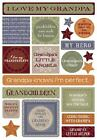 KAREN FOSTER DESIGN MY GRANDPA GRANDFATHER FAMILY CARDSTOCK SCRAPBOOK STICKERS