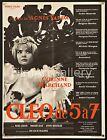 CLEO FROM 5 TO 7 1962 French 24x32 poster Agnes Varda filmartgallery DE A