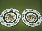 Ascot Service Plate LOT OF 2 -Wood and Sons ENGLAND ALPINE WHITE Ironstone