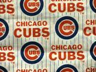 MLB CHICAGO CUBS 100% COTTON FABRIC FAT QUARTER  OOP  18X29 INCHES