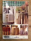 Simplicity 4096 home decorating Christopher Lowell table cloth covers toppers
