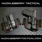 CARBON FIBER Kydex Traditional OWB IWB Combo by HUCKLEBERRY TACTICAL