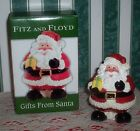 Fitz and Floyd Gifts From Santa 2005 Lidded Box 2058/278 NIB Sweet Faced Santa