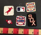 PATCH LOT 6 BASEBALL PATCHES MLB CHICAGO WHITE SOX JUNIOR LEAGUER MAJOR + MORE