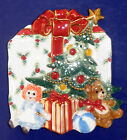 Fitz and Floyd Wee Christmas Tree Canape Plate- New in Box-2058/520