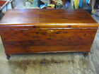Red Cedar Chest FBM Ferguson Brother Manufacturing Vintage Antique Rare Made USA
