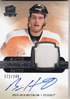 2011-12 UD THE CUP BEN HOLMSTROM RC 249 AUTO PATCH ROOKIE #172 11-12
