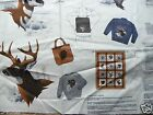 yd fabric Call of The Wild Appliques bear deer bighorn wolf new VIP animals