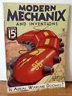 Modern Mechanix and Inventions Magazine Nov 1934 Auto Generators Wind Plant VG
