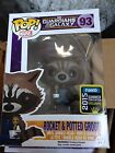 SDCC Summer Convention 2015 Exclusive Rocket Raccoon & Potted Groot Funko Pop