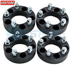 4 pcs 15 Wheel Spacers Black  5x45  fits Ford Edge Mustang Lincoln Mercury