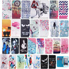 For iPod Touch 5 6th Patterned Card Slot Wallet PU Leather Flip Stand Case Cover