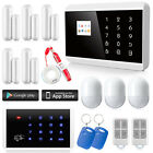 Wired GSM PSTN Home Alarm System+Keypad+Necklace Panic Button