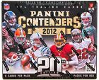 2012 Panini Contenders Football Hobby Factory Sealed Box