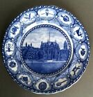 MARSELLUS Blue Staffordshire Souvenir Plate University Of Pennsylvania