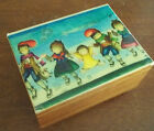 REUGE deichert OH WHAT A BEAUTIFUL MORNING w german swiss MUSIC jewelry BOX