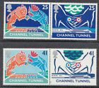 GB 1994 Opening of Channel Tunnel SG1820-3 Complete Set Unmounted Mint