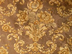 BTY WAVERLY Garden Grandeur Golden Floral Cotton Drapery Upholstery Fabric 54