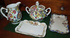 Antique Creamer and Sugar Bowl Marked w/ Crossed Sword & Arrow and an