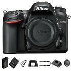 Nikon D7200 Body Only DSLR Camera 242 MP DX Format CMOS Sensor NEW